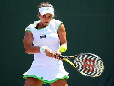 Sania Mirza had an easy win