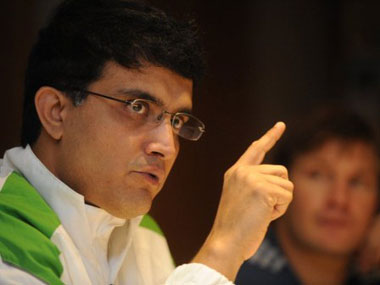 Sourav Ganguly is going to continue to play domestic cricket for Bengal. AFP