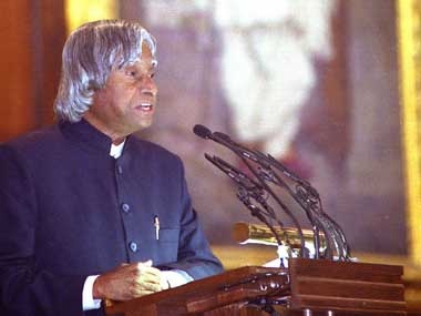 Former President of India APJ Abdul Kalam. Getty Images