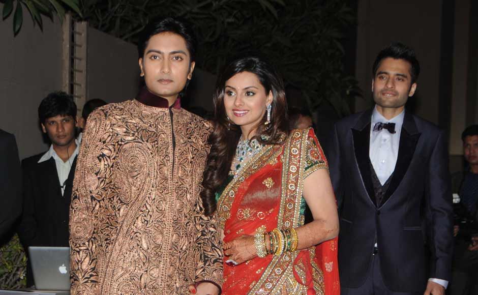 Images Abhi Ash At Deshmukh Juniors Wedding Reception Firstpost