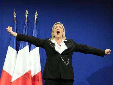 Marine Le Pen. Reuters
