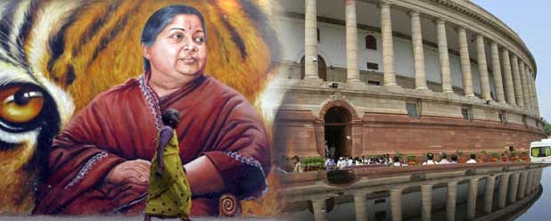 Jayalalithaa is aiming for the Prime Minister's seat