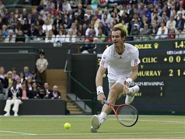 Murray won his match against Cilic in quick time. AP