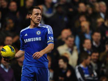 Should John Terry even be on the field? Getty Images