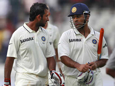 Mahendra Singh Dhoni and Cheteshwar Pujara will need to play well today. AP