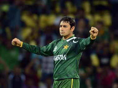 Saeed Ajmal and the Pakistan spinners were very good. AFP