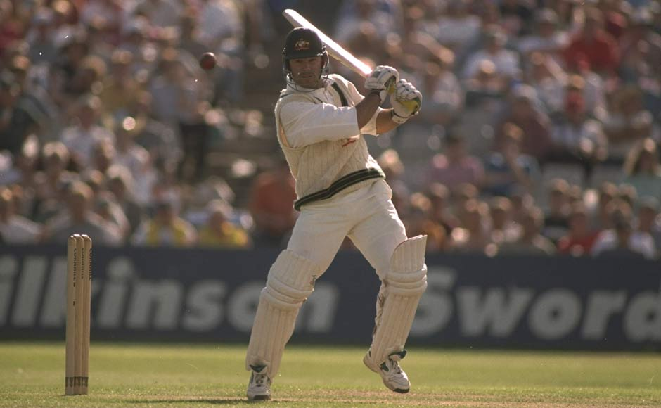 Ponting's first Test century couldn't have come against a better opponent. He smashed 127 against England in Leeds during The Ashes and Australia went on to win the match by an innings and 61 runs. Getty Images