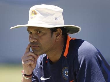 Tendulkar the thinker. Reuters