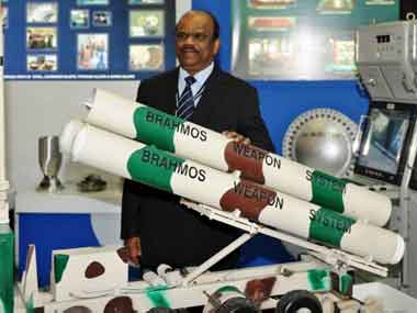 BrahMos Aerospace CEO A Sivathanu Pillai. AFP