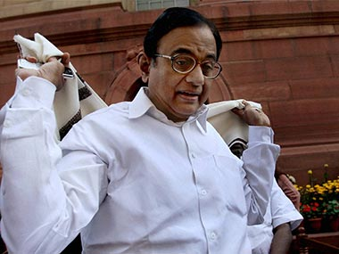 What has Chidambaram done? PTI