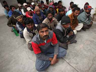 India and Pakistan arrest fishermen who stray across the maritime border. Reuters