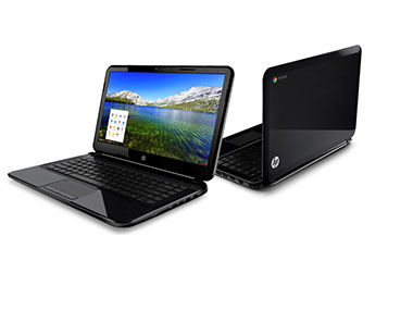 The HP Chromebook. Image from HP