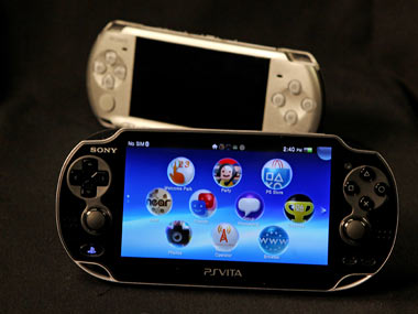 The PlayStation Vita. AP