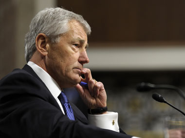 US defense secretary Chuck Hagel. AP