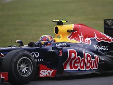 File picture of Red Bull Formula One driver Mark Webber. Reuters
