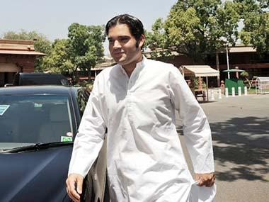 Varun Gandhi in this file photo. AFP