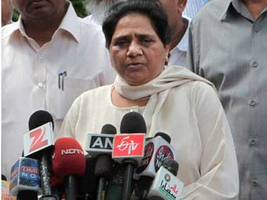 Bahujan Samaj Party supremo Mayawati. PTI