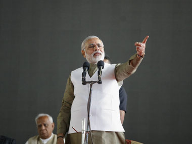 Narendra Modi is the only Indian politician to talk openly of a small government. Reuters