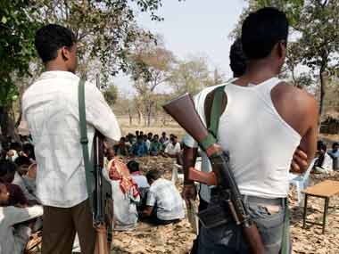 Naxal menace. Reuters