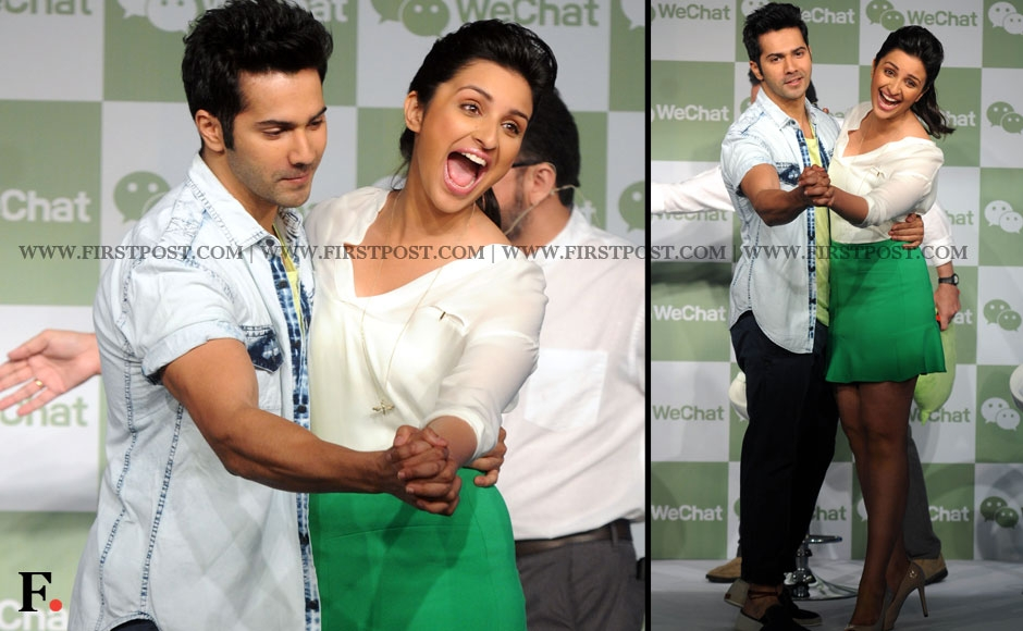 Varun Dhawan and Parineeti Chopra. Sachin Gokhale/Firstpost