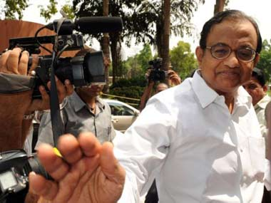 Finance Minister P Chidambaram. Reuters