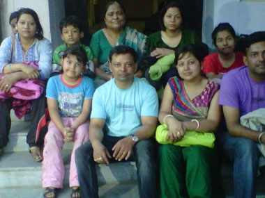 The Gupta family. Smita Sharma