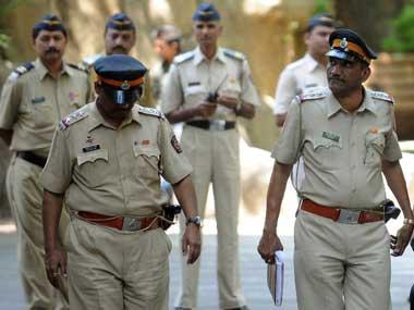A file photo of Mumbai police. AFP photo