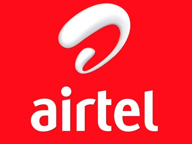 Airtel logo is seen in this file photo.