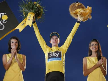 In two years, Britain has had two different winners: Bradley Wiggins in 2012 and now Froome. AP