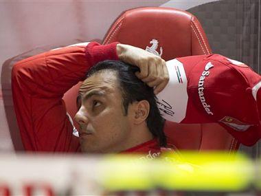 Felipe Massa has struggled to score points this season. AP