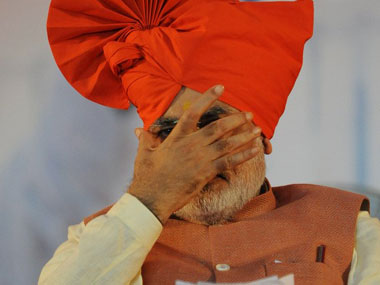 Narendra Modi is seen in this file photo. AFP