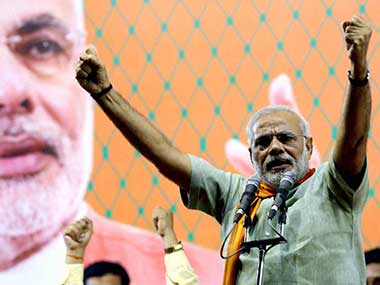 Narendra Modi in this file photo. PTI