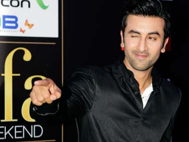 Ranbir at the IIFA awards: Reuters