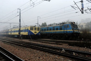 Indian Railways to join hands with MNREGA. AFP