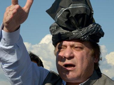 File photo of Nawaz Sharif. AFP