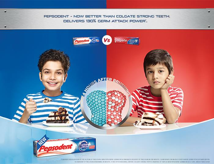Pepsodent drops the ball on social media