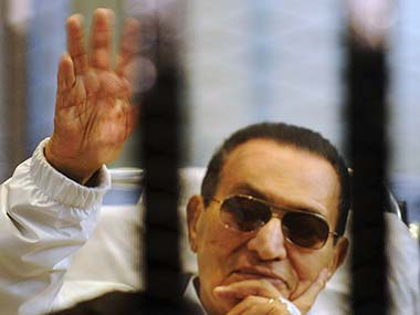 Hosni Mubarak in this file photo. Reuters