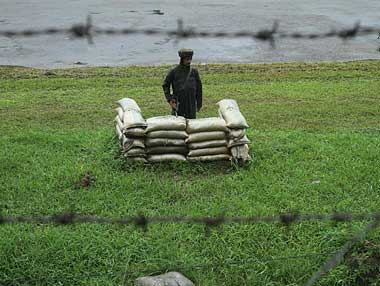 Did the soldiers relax due to the relative peace prevailing in the area they were patrolling? Reuters