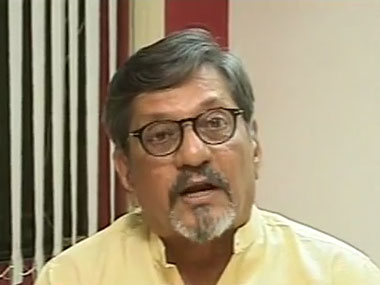 Amol Palekar in the CNN IBN discussion.