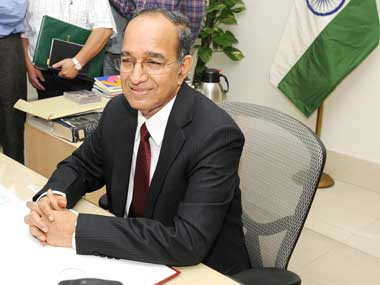 Chief Election Commissioner VS Sampath. Image courtesy PIB