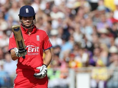 Alex Hales played the match-deciding knock. AP