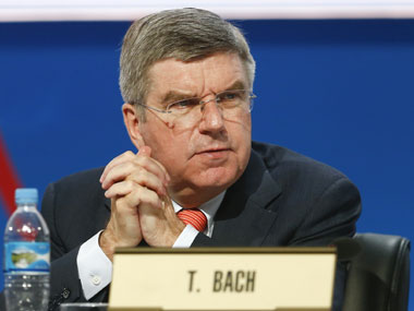 Germany's Thomas Bach has been elected as IOC Chief. AP