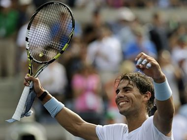 Nadal was at his merciless best. AP