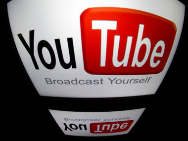 Youtube logo. AFP image