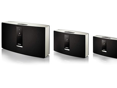 Handout image of the Bose SoundTouch speakers
