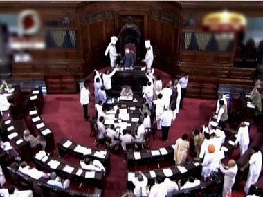 Rajya Sabha adjourned after ruckus over  Aadhaar-linked benefits
