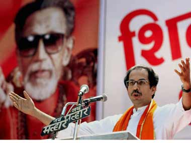 Shiv Sena leader Uddhav Thackeray said Pakistan needed to be taught a lesson for its ceasefire violations. PTI