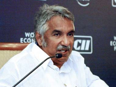 Kerala chief minister Oommen Chandy. PTI