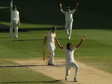 Ishant Sharma bowled with discipline and control at the MCG. Getty Sports Images