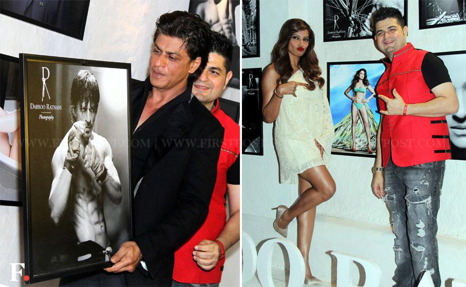 Shraddha, Elli and Jaqueline pose at Dabboo Ratnani's calendar launch ...